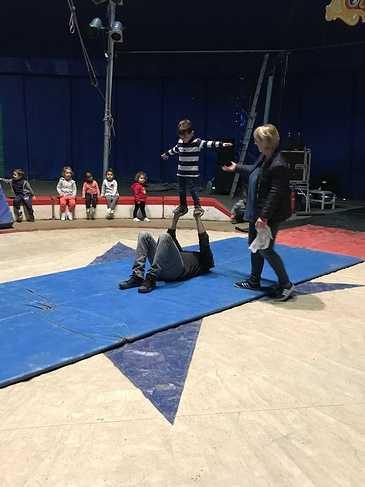 Le cirque à l''école img01711