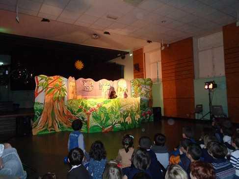 Un spectacle de marionnettes : l'art du spectacle vivant ! dsc06739