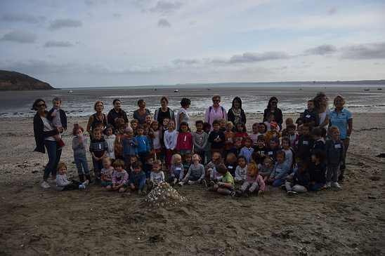 Les élèves de maternelle travaillent sur la mer 0