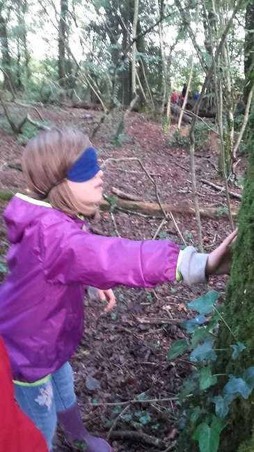 1ère sortie en forêt pour les ce1 et les ce2 8