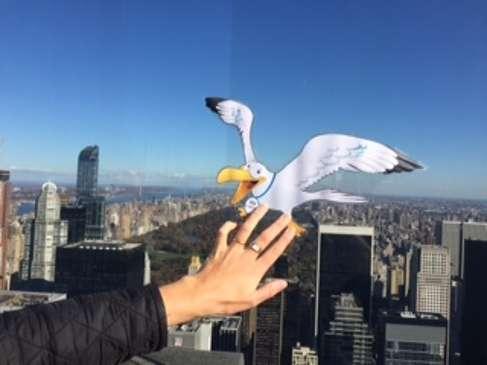 La mascotte des ce2 est à New York ! 7