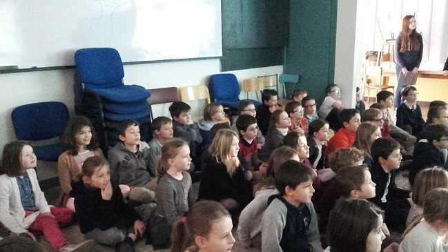 Les élèves du primaire découvrent l'Afrique. 5