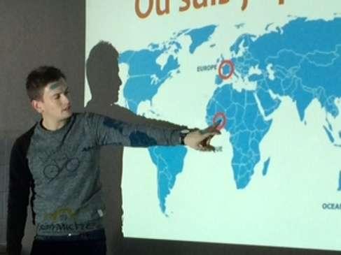 Les élèves du primaire découvrent l'Afrique. 0