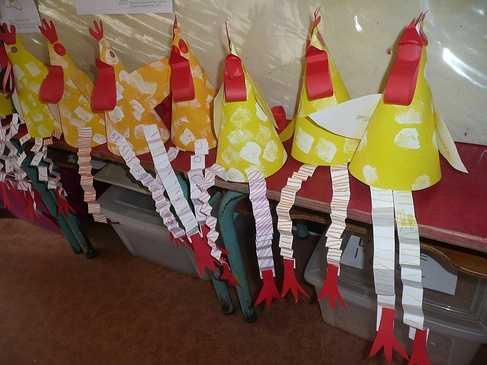 Les poules pâques en moyenne section p1160723