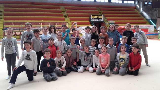 Les élèves de l'école St Michel découvrent le judo ! 0